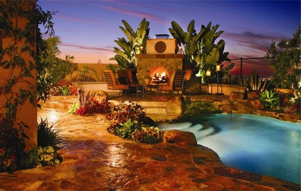 Outdoor Fireplace Ideas
