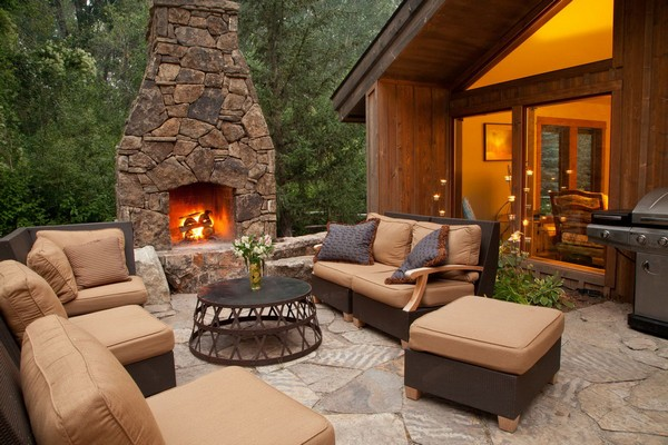 Outdoor Fireplace Ideas: Top 10 Outdoor Fireplace Kits ... on Diy Outside Fireplace id=15230