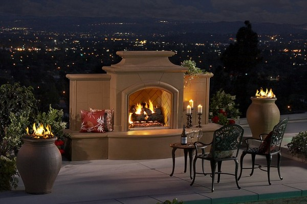Outdoor Fireplace Screens