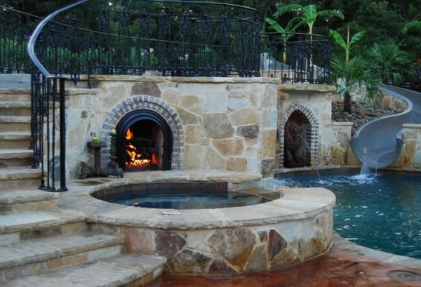 These Smashing Backyard Ideas Are Hot And Happening: Outdoor Fireplace Ideas: Top 10 Outdoor Fireplace Kits