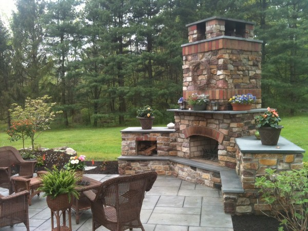 Outdoor Fireplace Ideas And Kits Diy, Outdoor Fireplace Plans Free