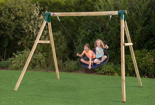 Plum Spider Monkey Ii Wooden Garden Swing
