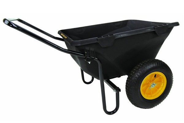 Polar Trailer 8449 Heavy-Duty Wheelbarrow