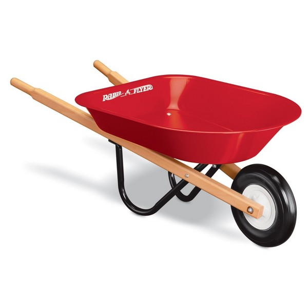 Radio Flyer Wheelbarrow In Spanish
