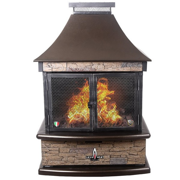 See Through Outdoor Fireplace Kits