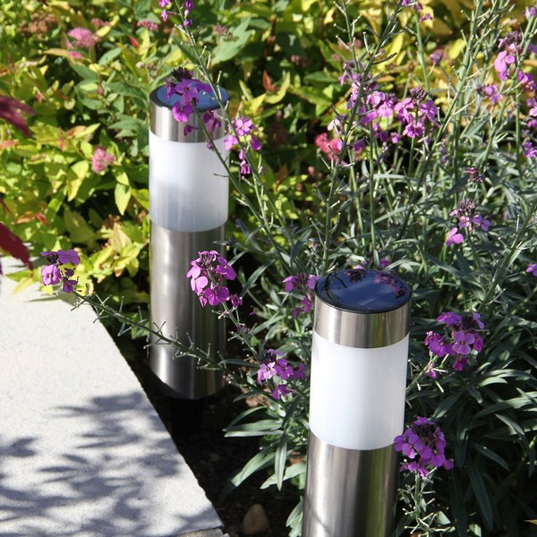 Solar Lights For Brick Wall : 13 Best Outside Garden Lights Reviewed [2018] - Planted Well