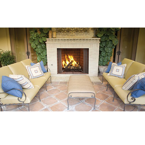 Outdoor fireplace kits gallery of diy opening etc for Prefabricated outdoor fireplace kits