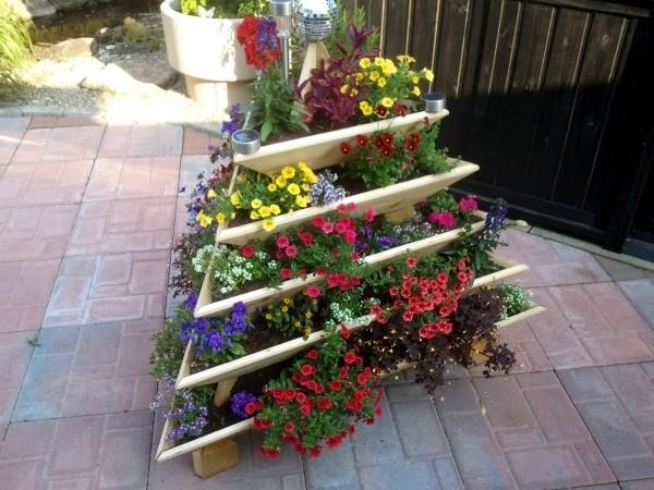 Vertical Gardening Pyramid
