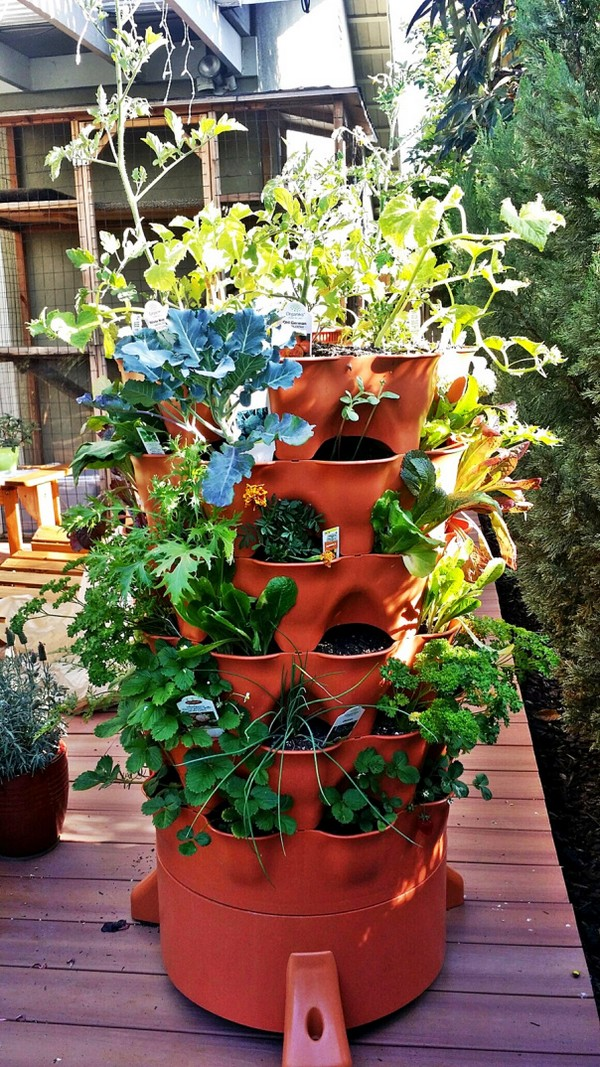 Vertical Gardening Tower