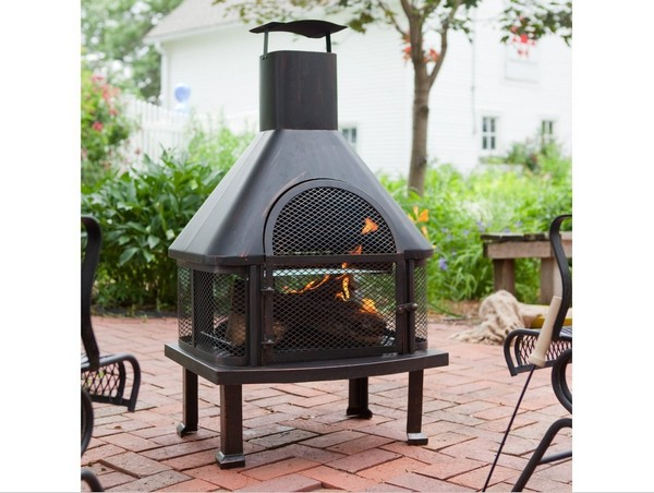 Back To Back Fireplace Indoor Outdoor