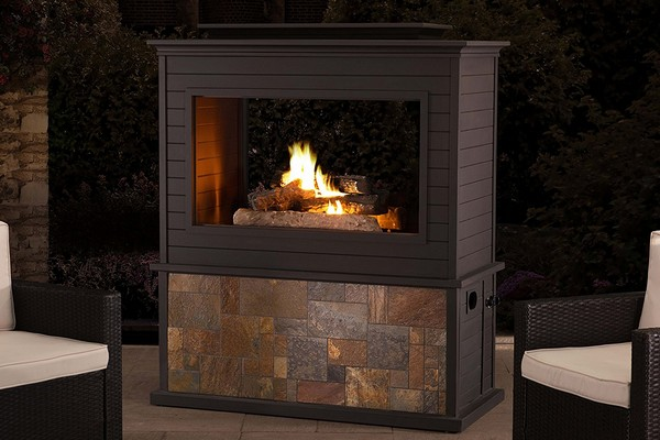 Outdoor Fireplace Insert Kit