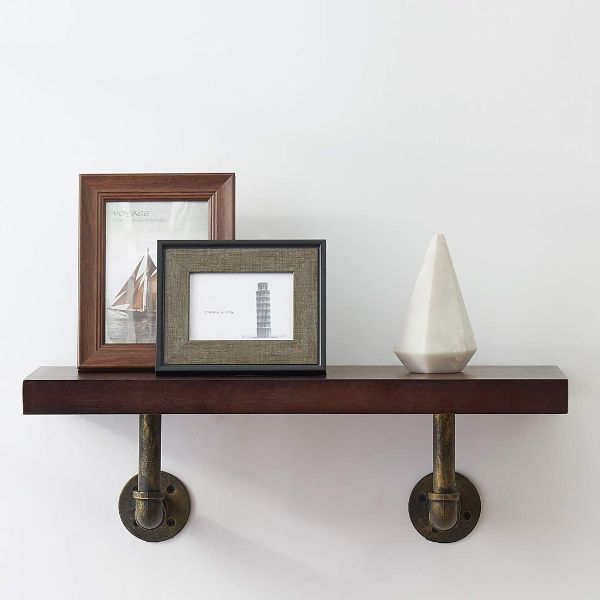 Wood Veneer Storage Shelves