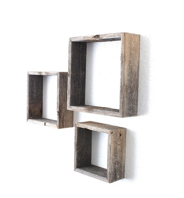 Diy Wood Shelves Pinterest