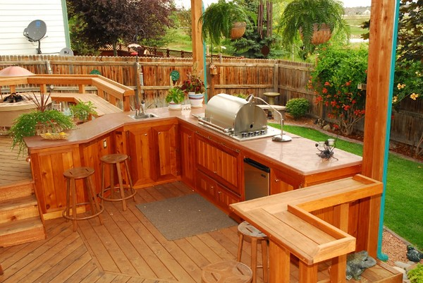 Diy Outdoor Kitchens On A Budget