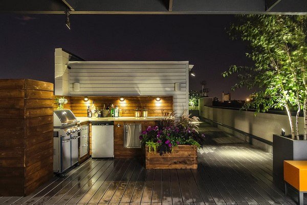 31 amazing outdoor kitchen ideas planted well for Outdoor kitchen designs for small spaces