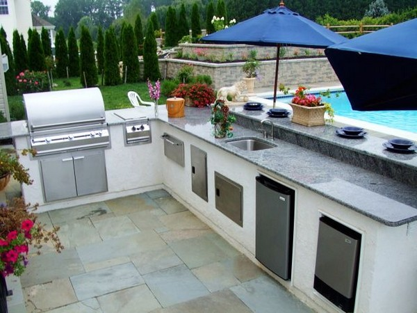 outdoor kitchens designs. Outdoor Kitchen Designs With Pool 31 Amazing Ideas  Planted Well