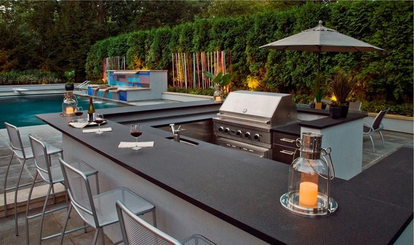 Outdoor Kitchen Ideas With Pools