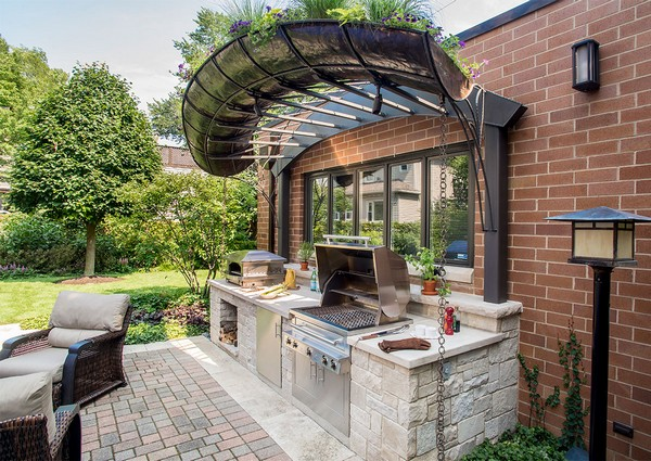 Outdoor Kitchen Designs With Pergolas 31 Amazing Ideas  Planted Well