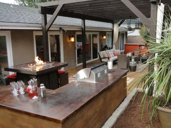 Outdoor Kitchen Diy