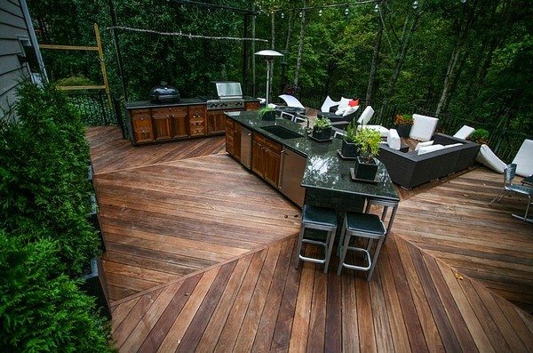 Outdoor Kitchen Ideas Green Egg