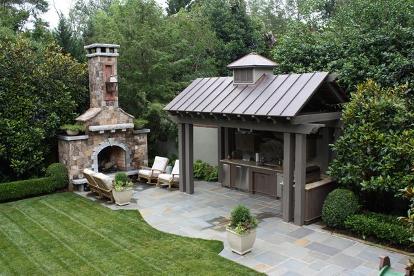 Outdoor Kitchen Island