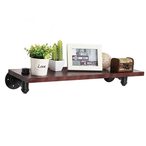 on brown shelf shelves amazing get shopping deal this wooden metal shop round with benzara wall