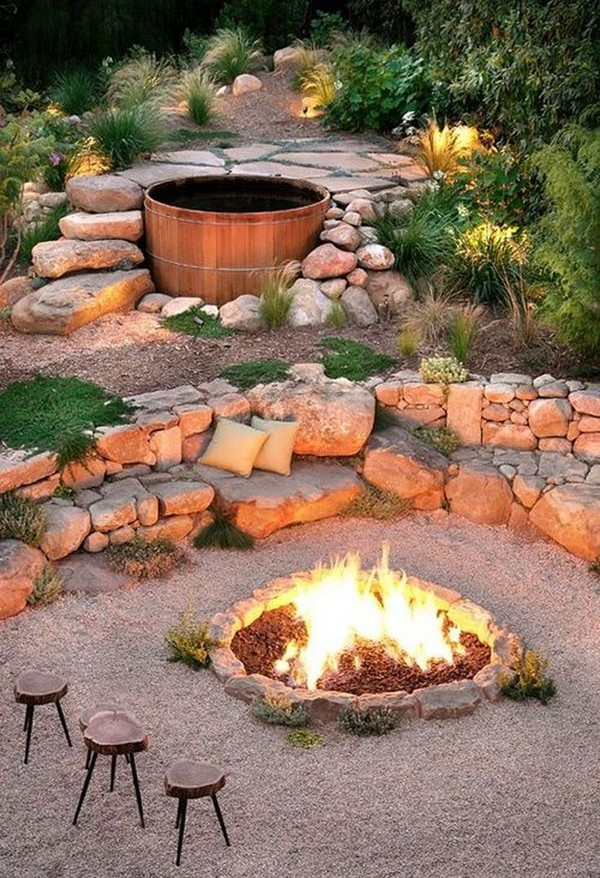 Backyard Ideas With Rocks