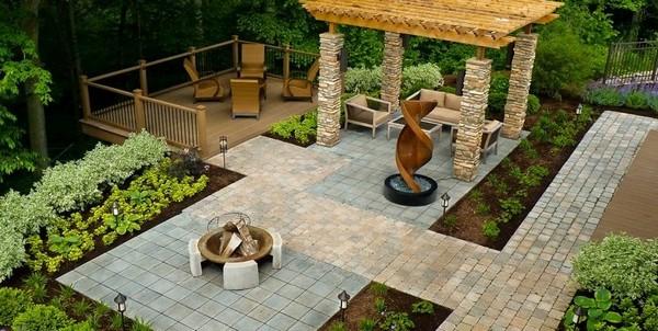 Zen Backyard Landscaping Design