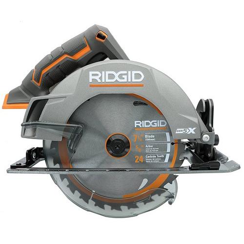 Circular saw guide 13 best circular saws reviewed 2018 this ridgid r8652 gen5x 7 14 inch circular saw can cut through a depth of 2 716 inch at zero degrees greentooth Gallery