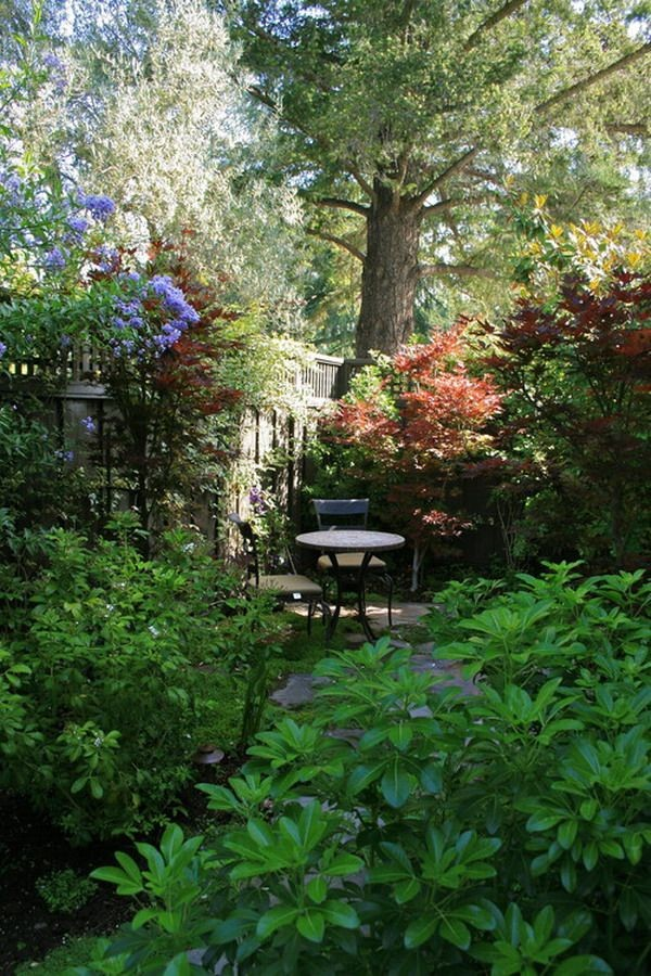 27 magical secret garden designs - Small backyard landscape designs ...