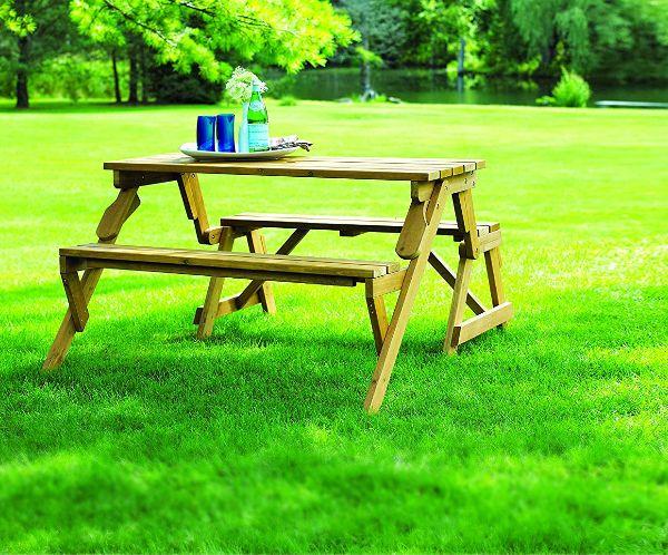 Garden Picnic Bench