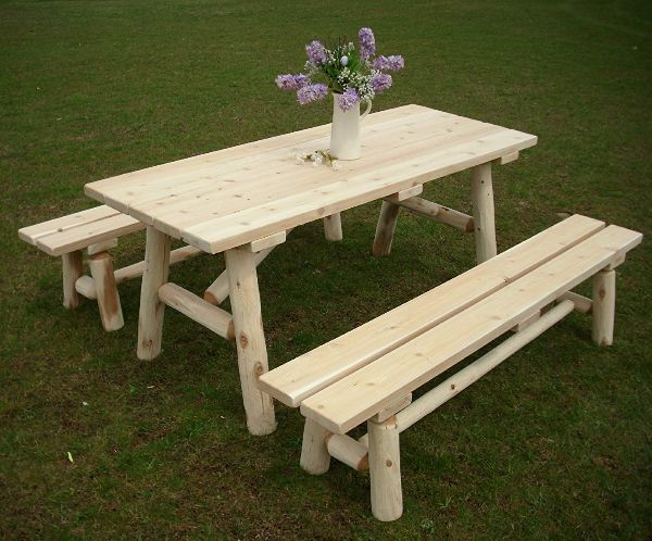 Picnic Bench For Garden