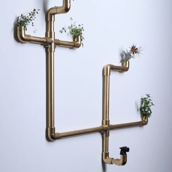 Indoor Gardening Pipes