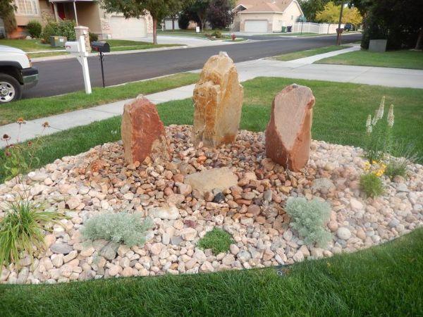 Boulder garden ideas