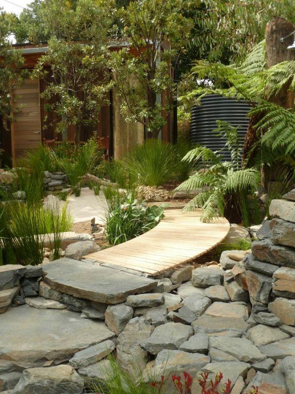 Walkway Rock Garden Plants