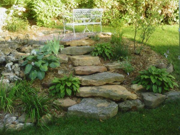 Rock Garden Stone Slabs