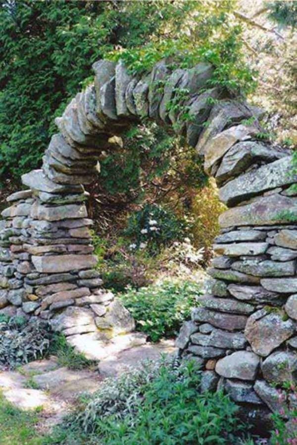 Rock Garden Images Arch