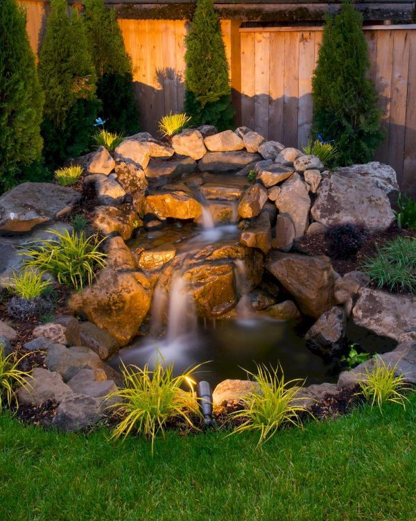 20 Inspiring Rock Garden Ideas and How to Build Your Own on Rock Garden Waterfall Ideas id=93510