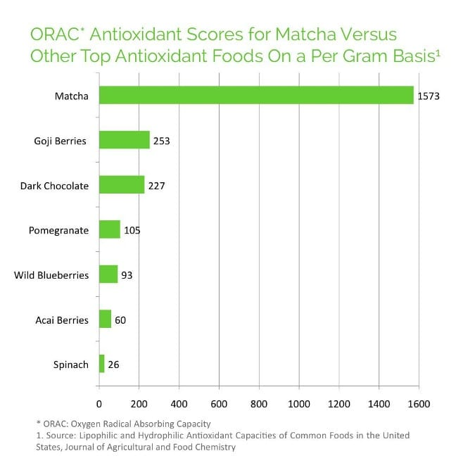 Matcha Green Tea Antioxidants