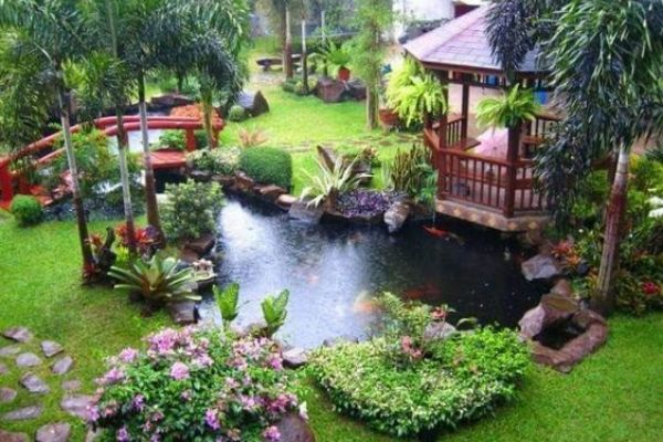 15 Japanese Garden Design Ideas With The Most Zen on peace project, rock garden project, vegetable garden project, japanese garden project, urban garden project, fire pit project,