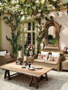 Garden Furniture Rattan Effect