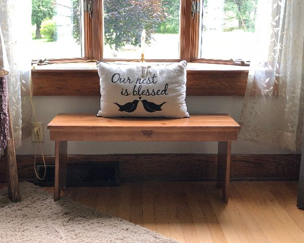 Affordable Wooden Bench