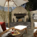 Beautiful Outdoor Fireplace