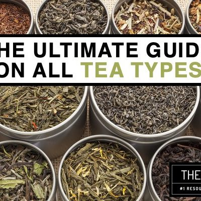 37 Types of Tea Explained with Benefits and Tea Brands