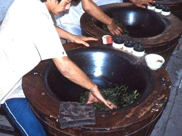 Fixing Tea Leaves