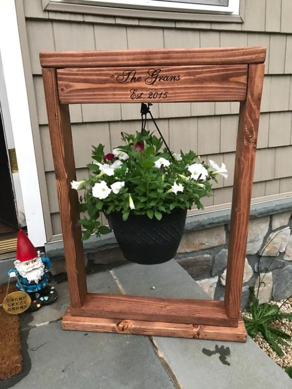 Outdoor Plant Stand