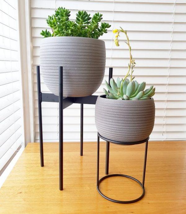 Black Plant Stand