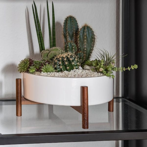 plant stand ceramic