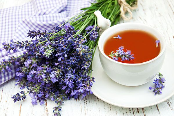 Chamomile Tea with Lavender