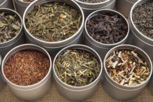 different type of tea types